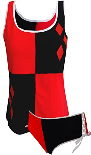 DC Comics Harley Quinn Camisole & Panty Set for women (Large)