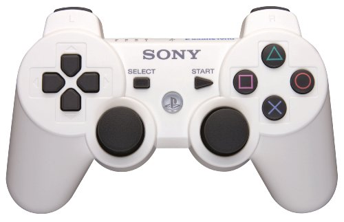 PS3 DualShock 3 Wireless Controller - Classic White