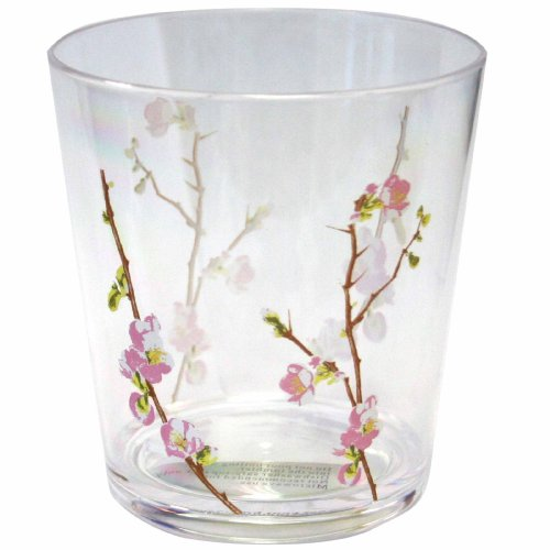 Corelle Coordinates Cherry Blossom 14-Ounce Acrylic Glass, Set of 6