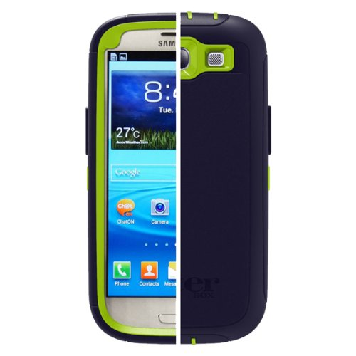OtterBox Defender Series for Samsung Galaxy S III - Retail Packaging - Atomic