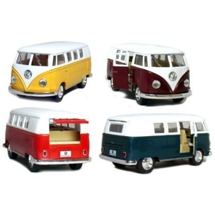 Volkswagen Classical Bus 1962 Colors May Very (Only 1 Truck Shipped Per Order)