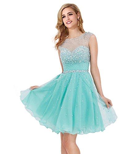 Babyonline Crystal Elegant Evening Dreses for Women Formal Occasion