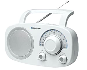 Blaupunkt BSA 8001 Radio Analogique de Table FM/MW/LW/SW Blanc