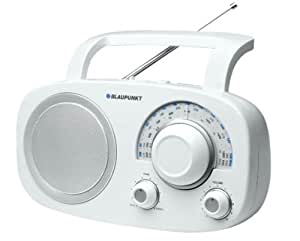 Blaupunkt BSA 8001 Radio Analogique de Table FM/MW/LW/SW Blanc