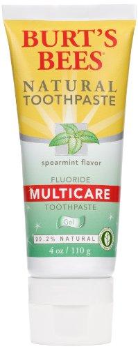 Burt's Bees Gel Multicare Toothpaste, Spearmint,
