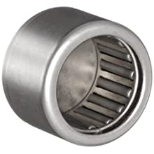 INA Needle Roller Bearing, Caged Drawn Cup, Steel Cage, Closed End, Open, Inch