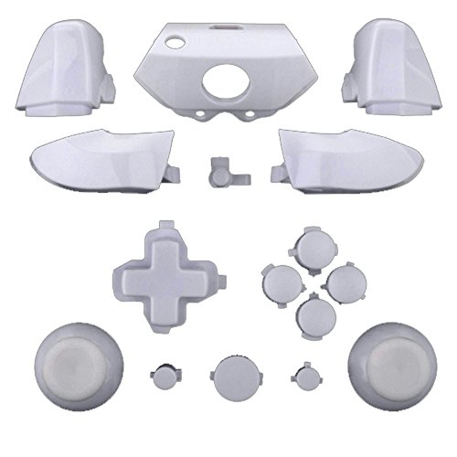 Mod Freakz Xbox One Controller Complete Button Set Solid White (Game Gear Repair Kit compare prices)