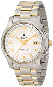 Bulova Men's 98B140 Precisionist Claremont Two-Tone Bracelet Watch
