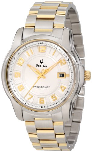Bulova Men's 98B140 Precisionist Claremont Two-Tone Bracelet Watch