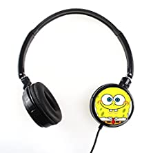 buy Spongebob 1Fsgb006 Earphone Headphone Fashion Cartoon Stereo Sound