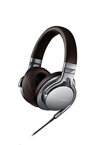Sony Mdr1A Premium Hi-Res Stereo Headphones (Silver)