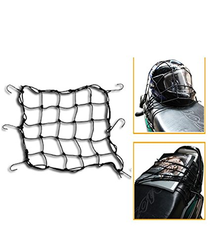 Dhhan Bungee Cargo Net/Seat Jali (10 x 10 inch) for Royal Enfield Bullet 350