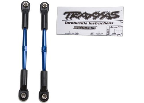 Traxxas 2336A Aluminum Turnbuckles Stampede, 61mm, Blue (2)