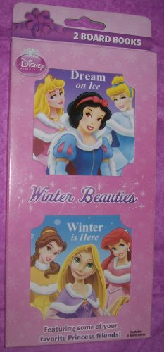 Disney Princess Board Books (2) Winter Beauties