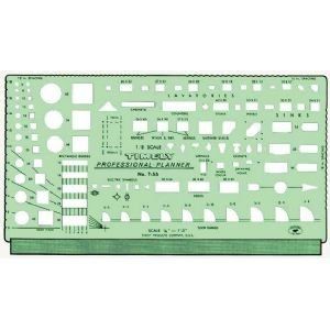 6 Pack Template Professional Planner Drafting, Engineering, Art (General Catalog)