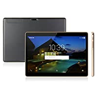 Anteck 9.6 Inch 3G Phablet IPS Screen Quad Core, 16GB ROM 1GB RAM, Android 5.1, Phone Tablet PC, Unlocked Dual Sim Card Slots, Bluetooth, GPS, WIFI, USB OTG, Stereo Speakers, Resolution: 1280X800 New Model from Anteck