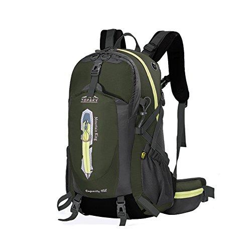 Outdoor sac à dos d'alpinisme / randonnée sac de Voyage multifonction-Army Green 40L