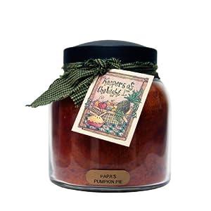 A Cheerful Giver Papa's Pumpkin Pie Papa Jar Candle, 34-Ounce