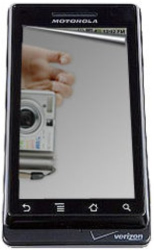 Amzer Mirror Screen Protector with Cleaning Cloth for Motorola DROID A855