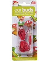 DCI 30352 Gnome and Mushroom Earbuds - Retail Packaging - Multi