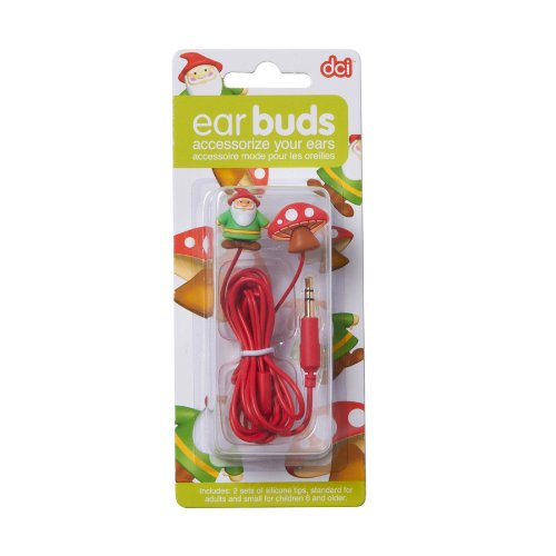 Earbuds, Gnome and Mushroom Earbuds