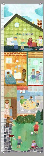 Oopsy Daisy Can Do Kids by Maria Carluccio Growth Charts, 12 by 42-Inch