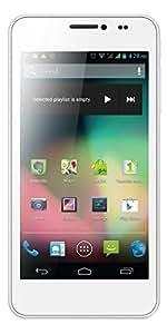 Ultimate UK UM450 4.5 Quad Core High Performance 3G Dual SIM Unlocked SIM Free Smart Phone White