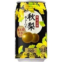 【限定出荷】サントリーチューハイ -196℃ 秋梨 350ml×24缶(1ケース)