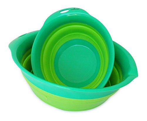 Culina Collapsible Mixing Bowl Set of 2 (small & medium), 8