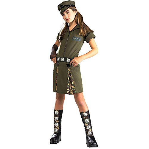 Tween Girls Major Flirt Costume