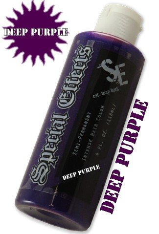Special Effects Hair Dye -Deep Purple #8