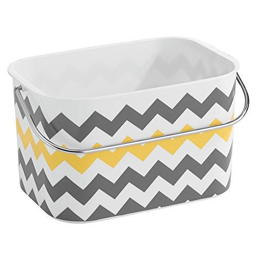 interdesign-una-basket-grey-yellow-chevron
