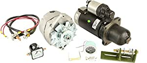 DB Electrical AKT0017 Alternator Starter for Conversion Kit John Deere Tractor for Models 3010, 3020, 4010 and 4020