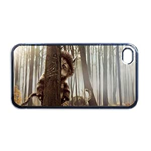 Where the wild things are Apple iPhone 4 or 4s Case / Cover Verizon or At&T Phone Great unique Gift Idea