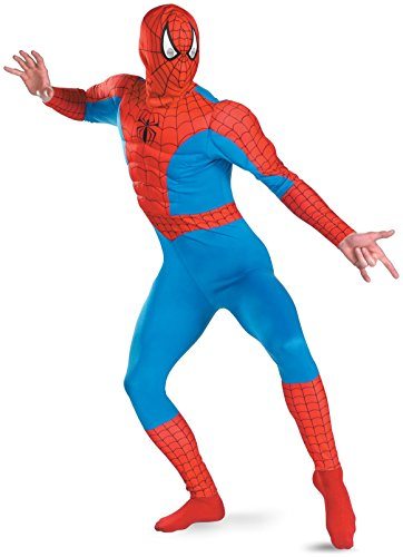 Disguise Inc - The Amazing Spider-Man Muscle Chest Adult Costume