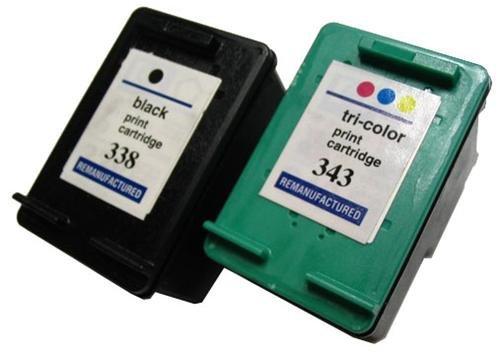 HP Druckerpatronen Refill C8765EE + C8766EE Nr. 338 + 343,344 Youprint