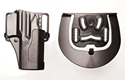 Blackhawk Sportster Standard Holster with Belt Loop and Paddle, Right Handed, Matte Finish (1911 Government and Clones without Rail)