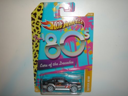 2012 Hot Wheels 80s Cars of the Decades Toyota AE-86 Black/Silver #21/32
