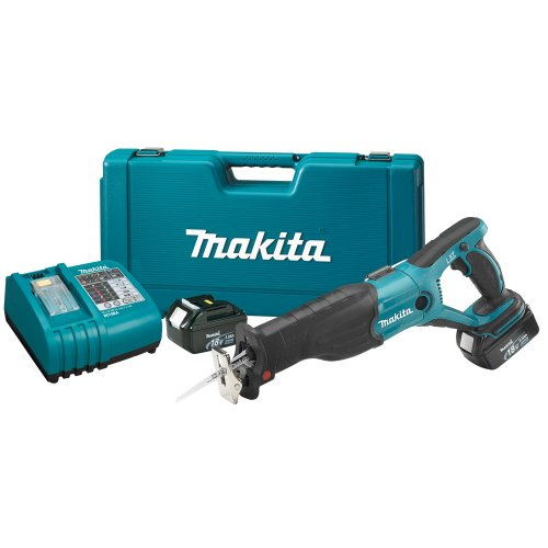 Makita BJR181 18-Volt LXT Lithium-Ion Cordless Reciprocating Saw Kit
