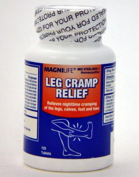 MagniLife Leg Cramp Relief Tablets - 125 Per Bottle