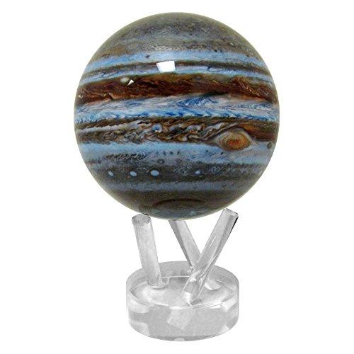 光で回る地球儀 ムーバグローブ MOVA Globe 4.5インチ 惑星・衛星シリーズ【並行輸入品】 (木星)