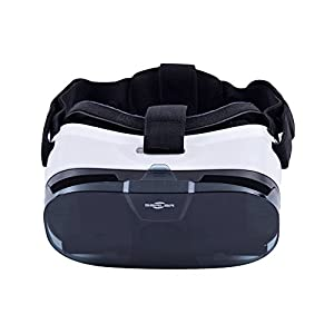 3D VR Glasses,Sarlar™ 3d vr virtual reality headset Movie Game For IOS, Android ,Microsoft& PC phones Series within 4.0-6.5inches from Sarlar