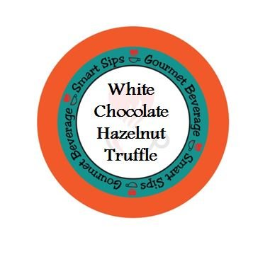 Smart Sips, White Chocolate Hazelnut Truffle Coffee, 24 Count, Single Serve Cups for Keurig K-cup Brewers (Sugar Free Cocoa Keurig compare prices)