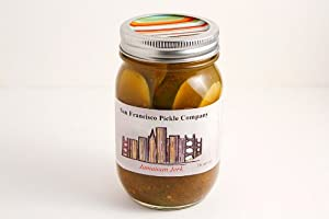 Jamaican Jerk Pickles from San Francisco Pickle Company