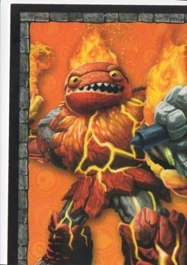 Skylanders Giants No. B1 PUZZLE - Puzzle Card Individuelle Trading Card