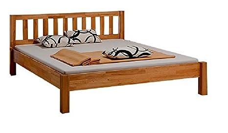 Marco de la cama de madera maciza de 180 x 200 cm de tamaño de madera de haya de Beni