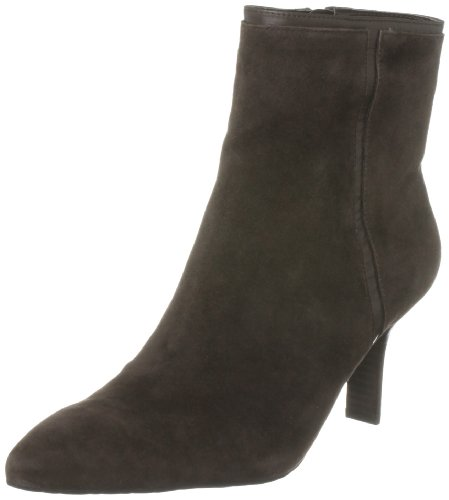 Rockport Women's Lianna Angular Bootie Dark Brown Ankle Boot K59708 4 UK