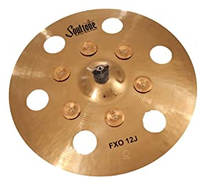Soultone Cymbals CBRRA-HHTB08-08 Custom Brilliant RA Hi Hat Bottom Only