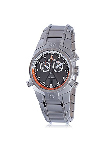 Sector Men's Silver/Grey Stainless Steel Watch