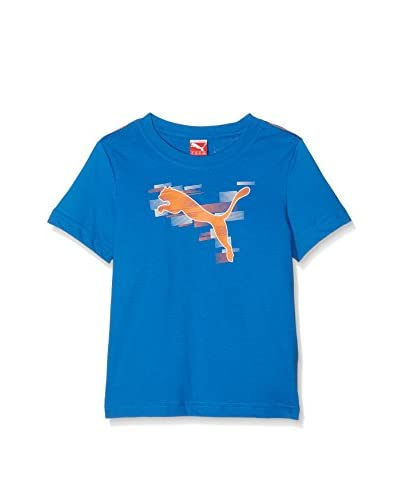 Puma Camiseta Manga Corta Boy'S Graphic Azul